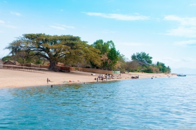 Lake Malawi - Beach on Cape Maclear