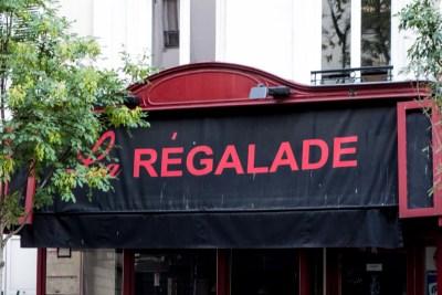 Food - Paris. La Regalade