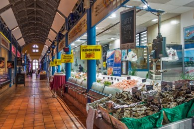 France - Metz Covered Market