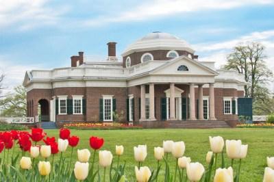 Virginia - Charlottesville, Monticello.
