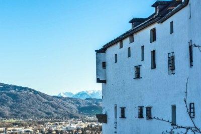 Hohensalzburg Festung Vista.