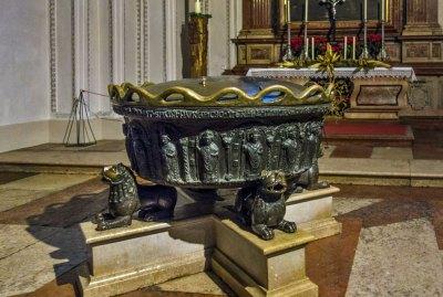 Salzburg Cathedral Baptismal Font