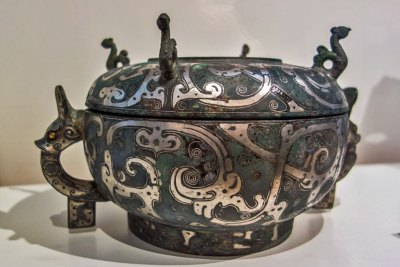 France - Paris Guimet cloisonne.
