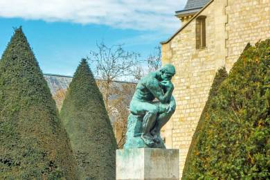 France - Paris Rodin Thinker.