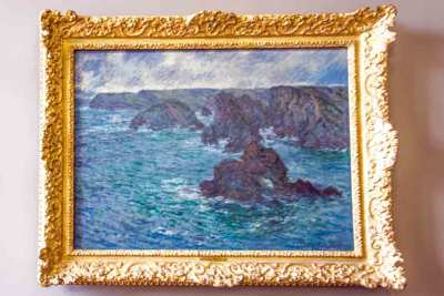 Claude Monet, Belle-Ile-en Mer, from the private collection of August Rodin.