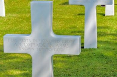 France-Normandy American Cemetery.