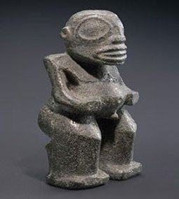 Matahoata - Ancient Tiki statuary from the Marquesas Islands.