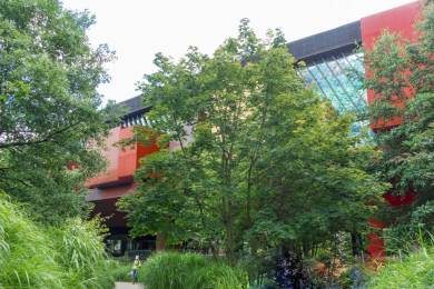 France -Paris Musee Branly Main Gallery