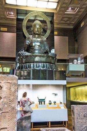 Paris - Cernuschi Buddha.