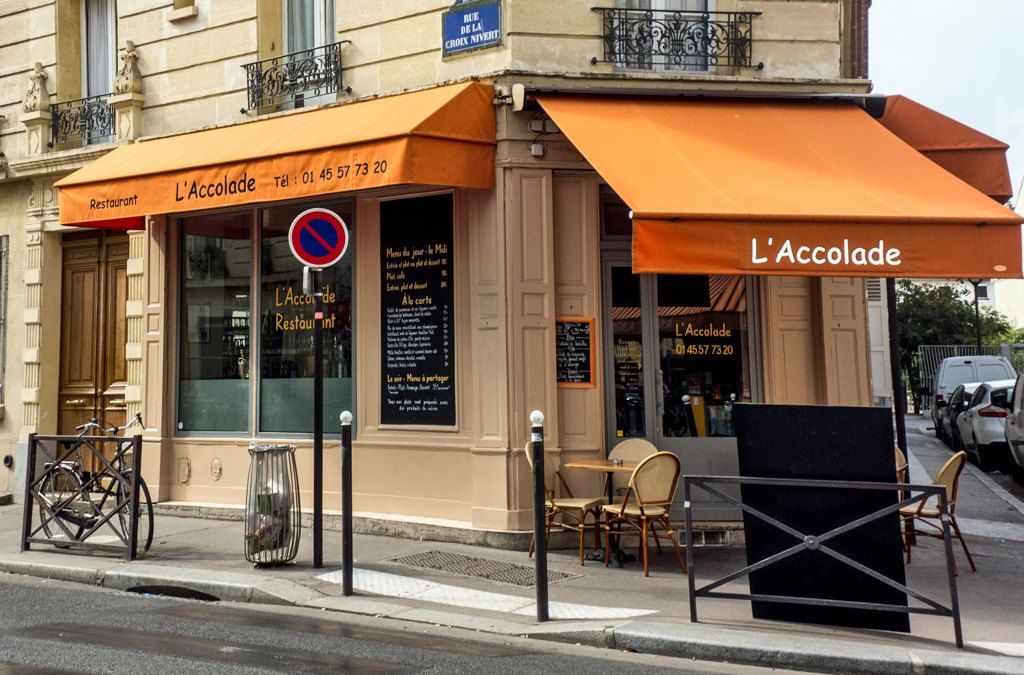 Paris-Bistronomie, L'Accolade