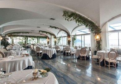 Amalfi-Santa Caterina Restaurant.