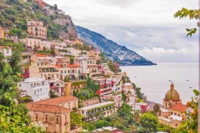 Amalfi Drive-Positano.