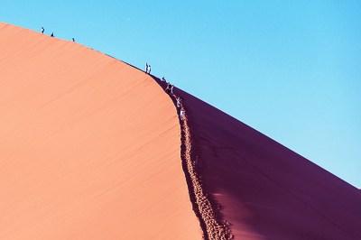 Namib-45 climbers.