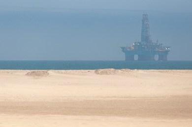 Walvis-Oil rig.