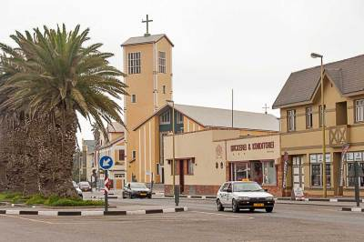 Swakopmund-historic center.