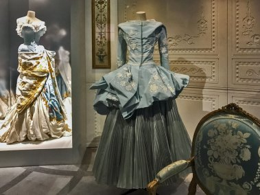 More Versailles-inspired gowns.