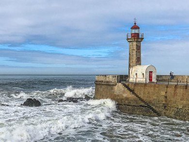 Douro-Foz Lighthouse.