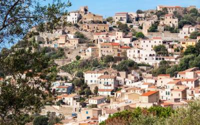The Balagne Mountains village of Pigna (2).