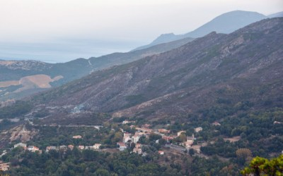 Remote Northern Corsica valley,