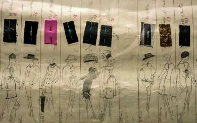 Paris YSL-sketches