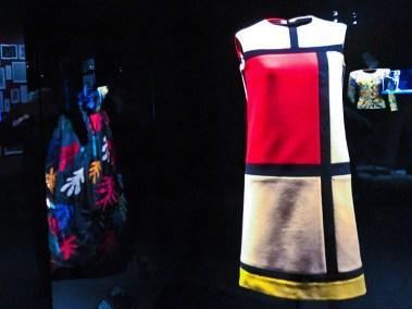 Mondrian Dress. Fall/Winter 1965-66  Collection.
