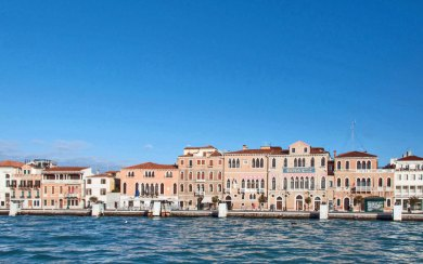 Italy-Venice Zattere.