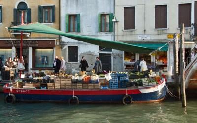A Dorsoduro greengrocer.