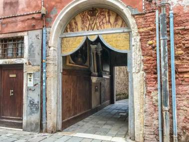 Venice-Castello door.
