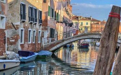 Venice-Castello canals.
