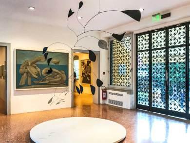 Venice-Guggenheim foyer.