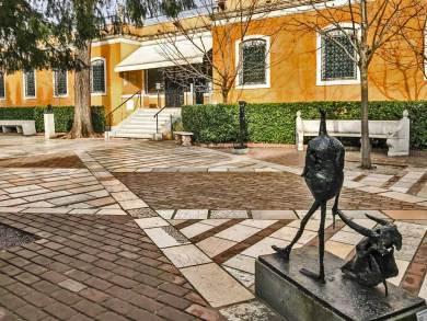 Venice-sculpture garden.
