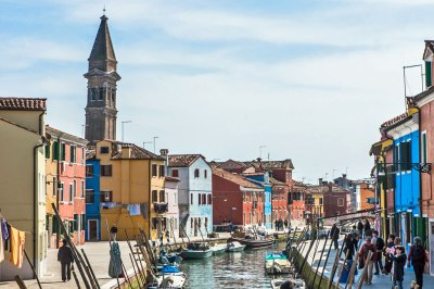 The canals of Burano (2).