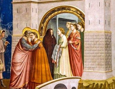 Padua-Giotto kiss
