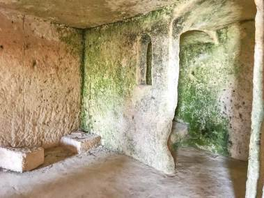 Original cave dwelling in Sasso Caveoso.