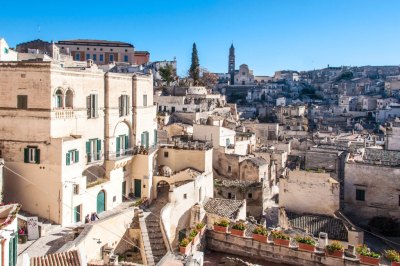 View from the Piano over the Sassi of Matera.
