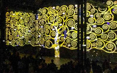 Klimt and Gold - The tree of life.