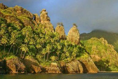 Marquesas-Fatu Hiva Bay of Virgins.