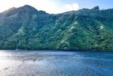 Marquesas-Tahuata Cliffs.