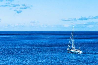 Sailing into the wide blue yonder takes on an all new meaning in Tahuata.