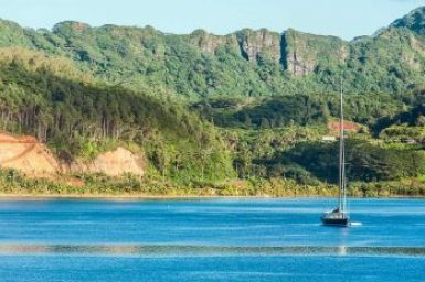 Society-Huahine Maroe Bay.