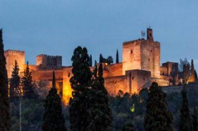 Granada-Alambra view.