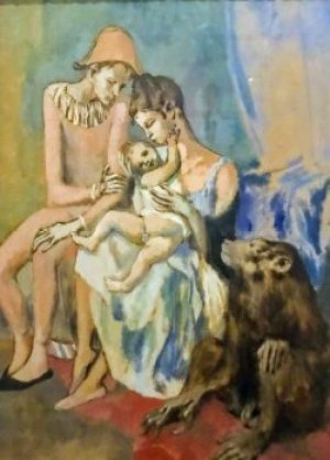 Picasso-Acrobat Family Baboon.