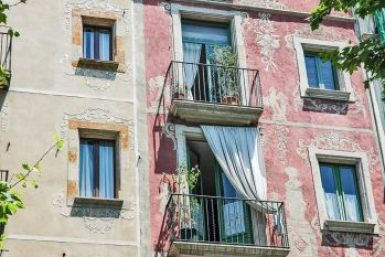 Barcelona-Gothic Quarter styles.