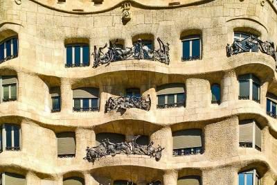 Gaudi-Pedrera facade.