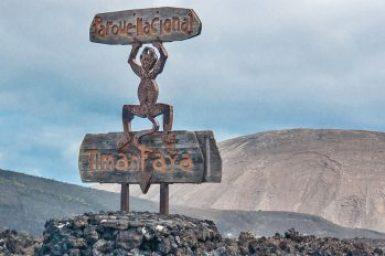 Lanzarote-Timanfaya logo.