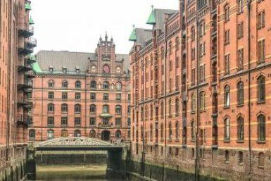 Hamburg-Warehouse District.