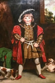 Master Crewe as Henry VIII (1767. Joshua Reynolds, oil on canvas).