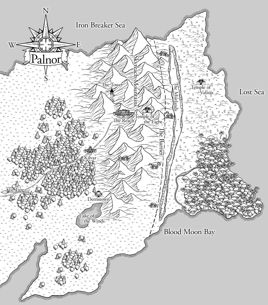 Map of Palnor