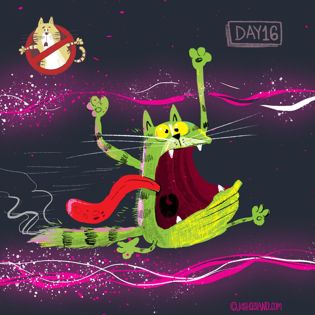 Slimmer illustration by Josh Cleland