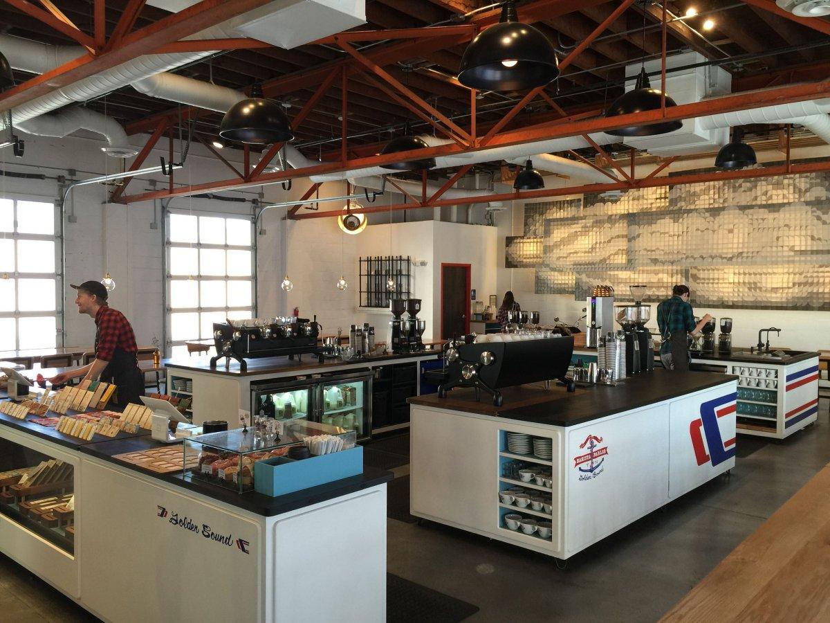 Barista Parlor Golden Sound Cafe View